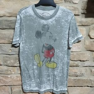 Disney distressed Mickey Mouses tee